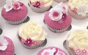 Floral Wedding Cupcakes Bespoke Celebration Cakes For All Occasions