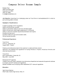 Warehouse Driver Resumees Templates Truck Cover Letter