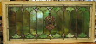 4460 antique stained glass window