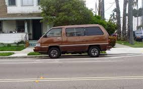 THE STREET PEEP: 1989 Toyota Van 4WD