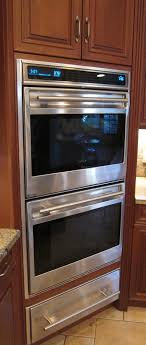 simple oven wolf double oven l series and