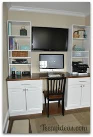 office desk cabinets. diy office built ins using stock kitchen cabinets and custom storage towers desk o