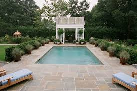 Small Pool Outdoor Kitchen Barry Block Landscape Design & Contracting East  Moriches, NY