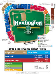 Correct Huntington Field Seating Chart 2019