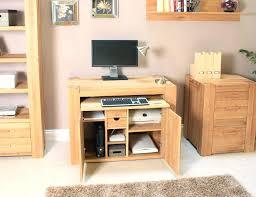 baumhaus mobel solid oak hidden home office. Hidden Home Office Desk Mesmerizing Computer Cabinet Fendi Baumhaus Mobel Solid Oak S