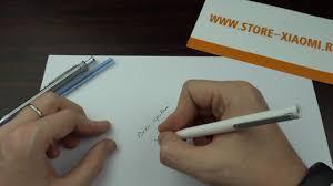 Шариковая <b>ручка Xiaomi Mi Pen</b> - будущий конкурент Parker ...