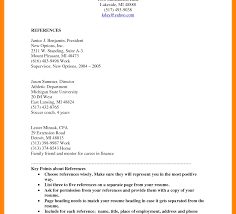 How To Make A Reference Page For Resume Amazing How To Make A