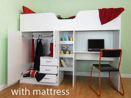 High sleeper bed package, bed and mattress, the ideal cabin bed for  children from
