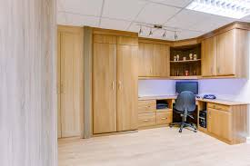 office in a wardrobe. Pull-down Bed Combined With A Home Office In Wardrobe
