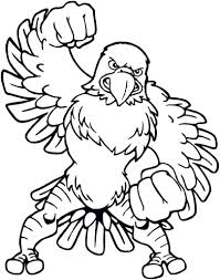 eagles football coloring pages with eagle coloring pages philadelphia eagles coloring pages printable vosvete net on printable coloring picture of an eagle