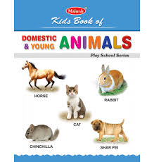 kids book of domestic young animals no a l  kids book of domestic young animals no 1 a l