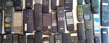 Multiple TV remotes showcase the evils of complexity. Smart TVs just make  it worse. – Praxtime by Nathan Taylor