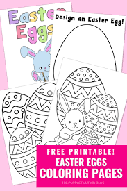 I have included 21 eggs in the free easter egg coloring pages, but i could only squeeze fifteen onto this image. Easter Eggs Coloring Pages To Print For Free