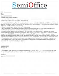 It then becomes the basis of the employment relationship. Job Offer Letter Sample From Employer