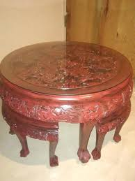 oriental coffee table and chairs