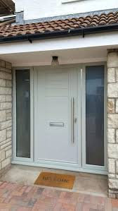 high quality front doors. make your home more welcoming with our mayon composite door and glazed side panels find high quality front doors o