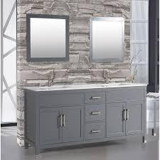 denault 84 double sink bathroom vanity set