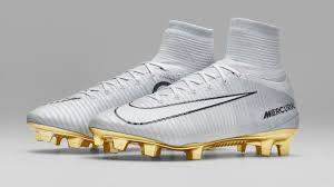 white and gold nike mercurial superfly
