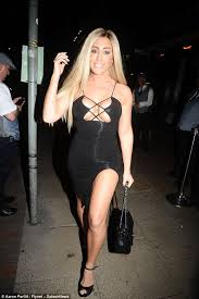 Laura-Alicia Summers flashes her assets on night out | | Express Digest