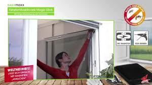 Easymaxx Fenster Moskitonetz Mit Magnetbefestigung 150x130cm In