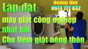 Báo giá máy giặt công nghiệp cũ nhật bãi giá rẻ nhất tại Thái Nguyên
