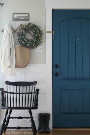 painted interior door ideas