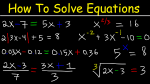 solving multistep equations with variables on both sides paheses fractions decimals