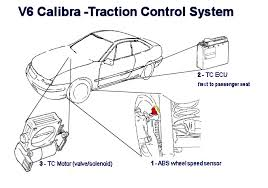 calibra v6 traction control and abs system diagnostics Traction Control Wiring Diagram Traction Control Wiring Diagram #85 davis traction control wiring diagram