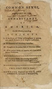 bill of rights institute in his 1776 pamphlet common sense the british revolutionary thomas paine wrote ldquowe have it in our power to begin the world over again rdquo