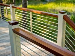 exterior wood railing. deck railing design ideas exterior wood