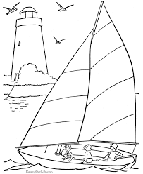 Small Picture Coloring Pages of the Beach