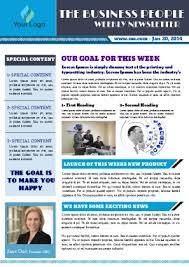 Free Newsletter Layouts Free Newsletter Templates Pageprodigy