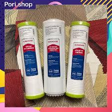 Bộ 3 lõi lọc thô chính hãng Sunhouse, bộ lõi 10 inch máy lọc nước RO -  Loi123, Pori Shop giá cạnh tranh