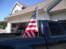 Truck Flag Mount Bed Pole Standard Hitch – TresPass