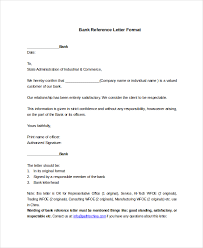 Refernce Letter Template Letter Bank Ohye Mcpgroup Co