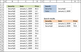 match two criteria and return multiple