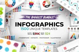 1 500 Fully Customizable Infographic Templates Only 24