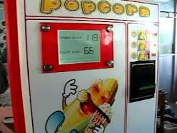 Popcorn Vending Machine Adorable Popcorn Vending Machine Working Process YouTube