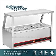 stainless steel table top. Kitchen Equipment Buffet Stainless Steel Table Top Electric Hot Glass Food Showcase Bain Marie Warmer Cover