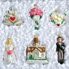 old world glass ornaments wedding collection free item use code bridefreeship at checkout