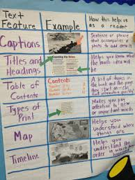 Text Features Anchor Chart What Is A Text Feature Lamasa Jasonkellyphoto Co