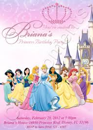 disney princess party invitations net disney party invitation templates template party invitations