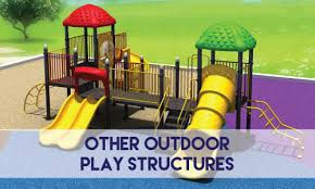 outdoor play structures more