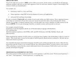 Technical Skill In Resume Resume Cv Cover Letter