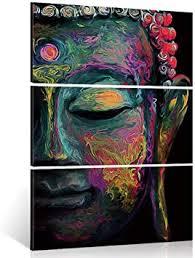 Shuaxin Modern Large Buddha Wall Art Print on ... - Amazon.com