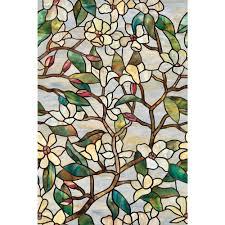 summer magnolia decorative window