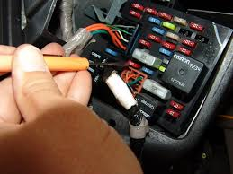 sparky's answers 2002 chevrolet tahoe, fog lights do not work how to put a wire into a fuse box to make my life easier i installed a fused jumper wire into the fuse box this allows me to use cheaper fuses or a circuit breaker while testing