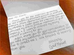 3 Thank You Card For Interview Ganttchart Template