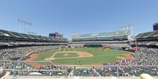 Ringcentral Coliseum Section 213 Oakland Athletics