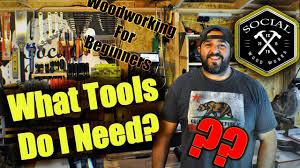 Basic wood tools needed
